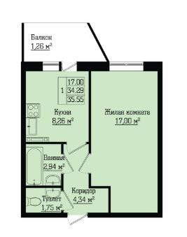 Жилой дом на Лабораторном, 23А